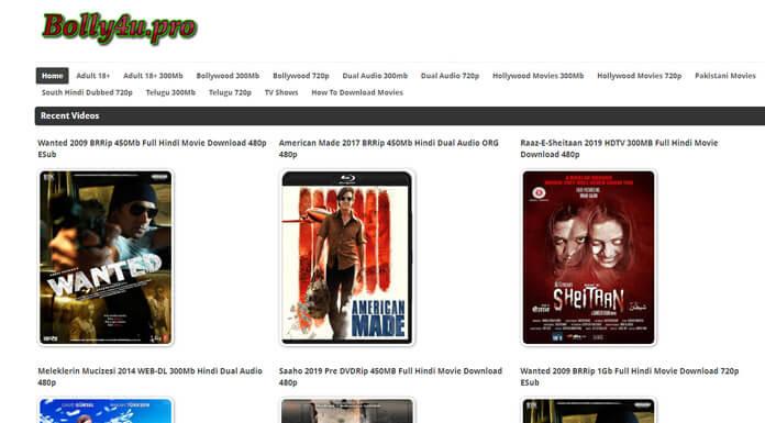 Bolly4u 2021 – Watch Illegal Bollywood HD Movies Website